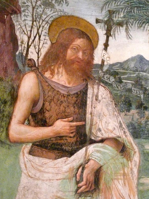 San Giovanni Battista, Pinturicchio dans immagini sacre Pinturicchio_z03