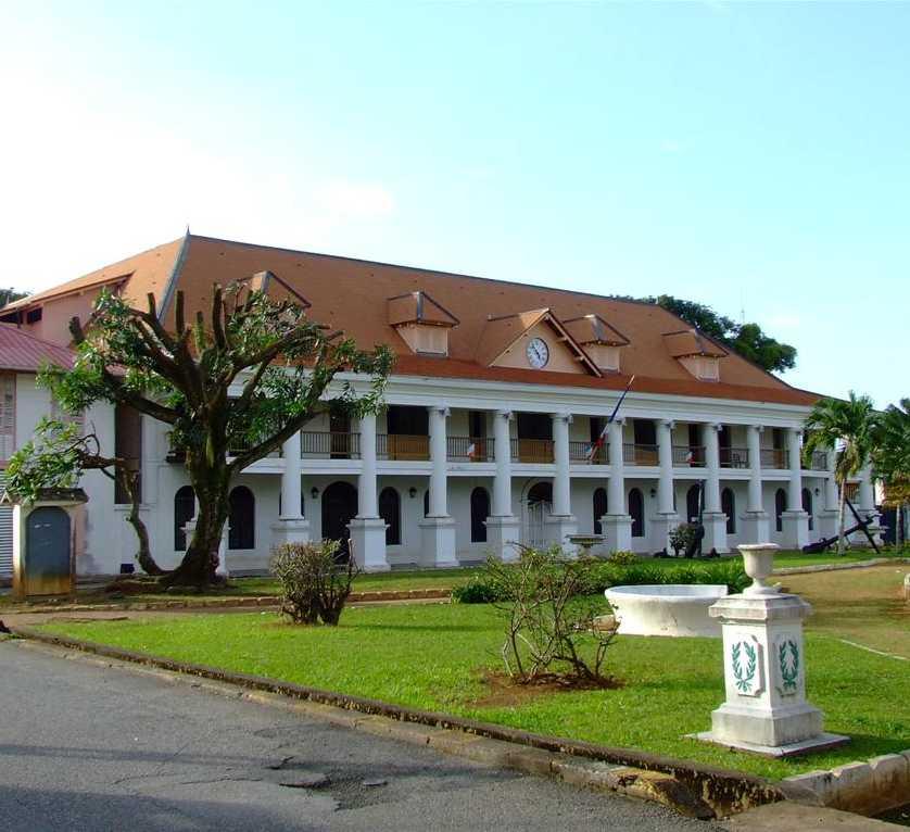 Hôtel de préfecture de la Guyane — Wikipédia