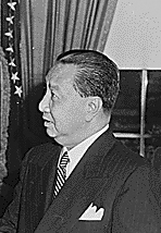 Elpidio Quirino formally elected president November 8, 1949