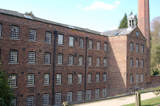 Quarry Bank Mill - geograph.org.uk - 793912