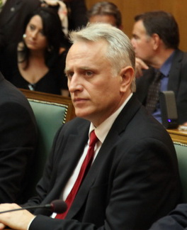 Giannis Ragousis, Minister for the Interior, D...
