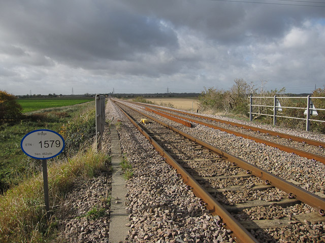 File:Railway to Ely - geograph.org.uk - 1556005.jpg