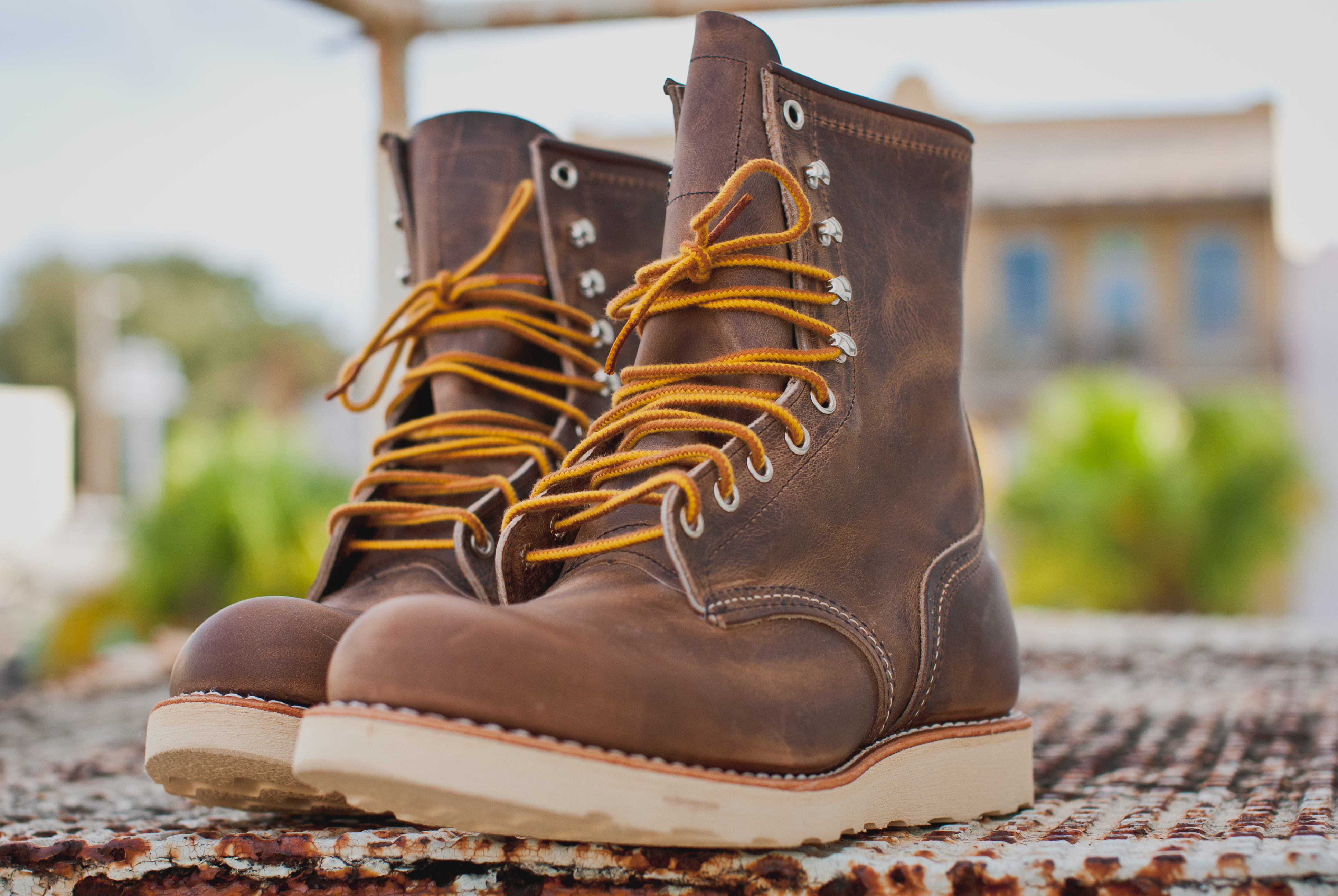 New Patina Red Wing 877 Boots  Gear Patrol