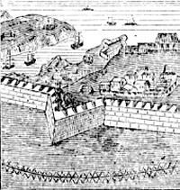 Redan term related to fortifications