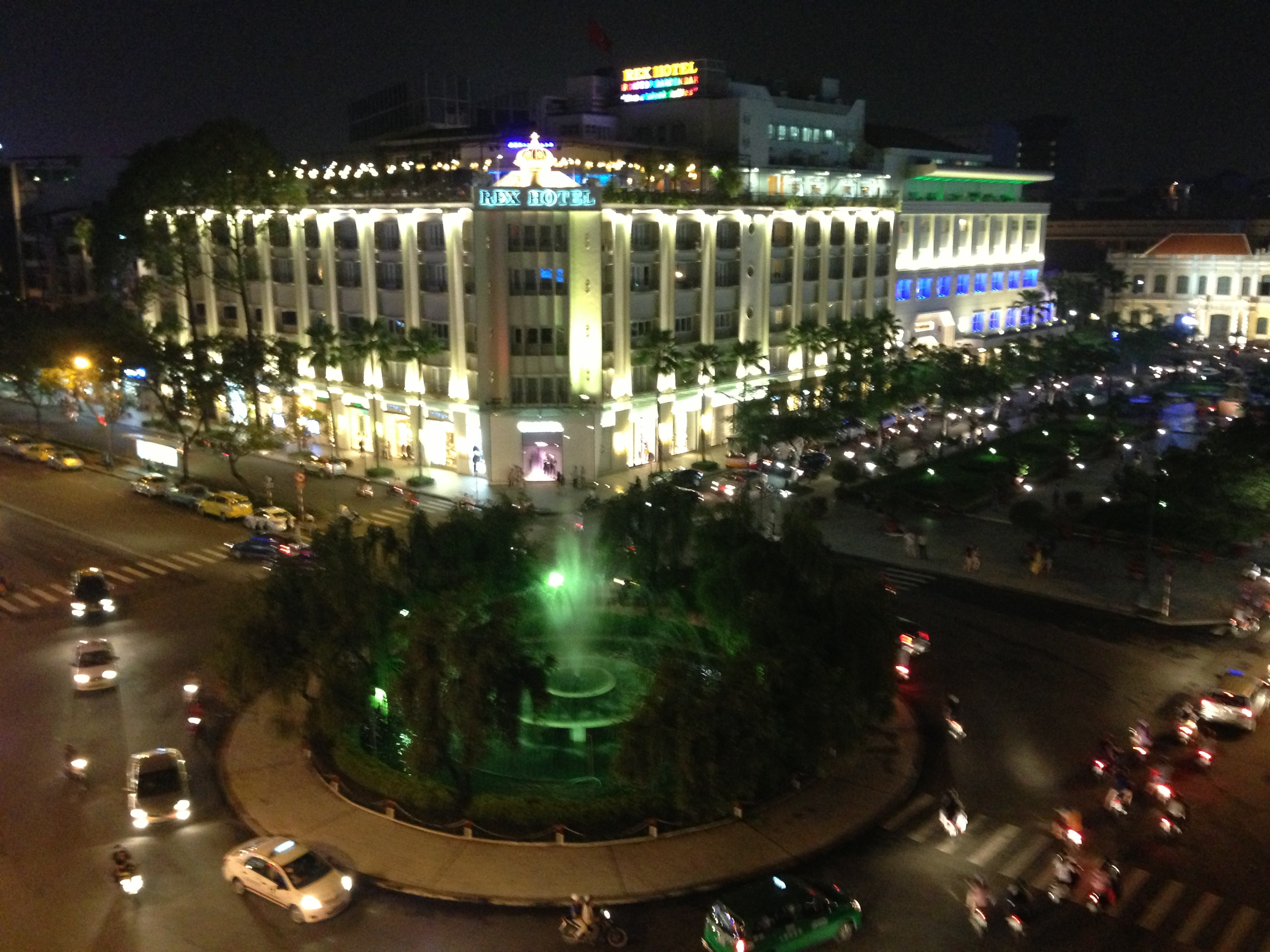 The Rex Hotel Saigon Saigon Saigon Rooftop Bar At