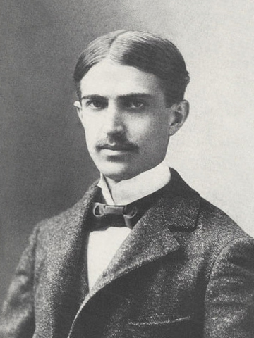 Formal portrait of Stephen Crane taken in Washington, D.C., about March 1896