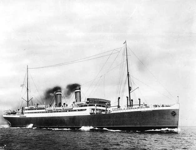 SS Bergensfjord in 1927
