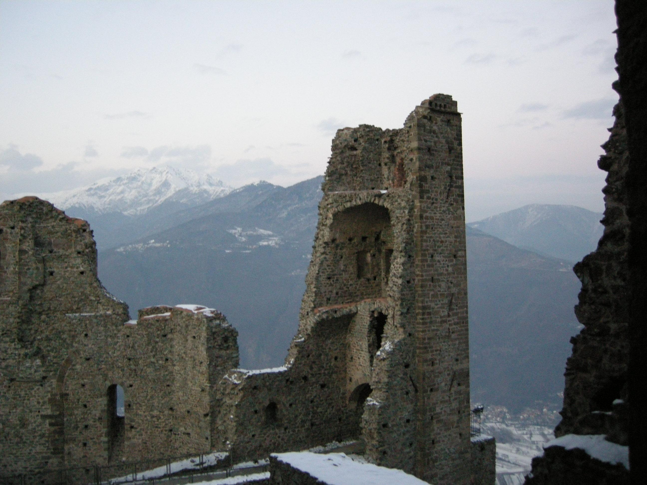 Historie medievali la sacra di san michele for Piani di cabina della torre di fuoco