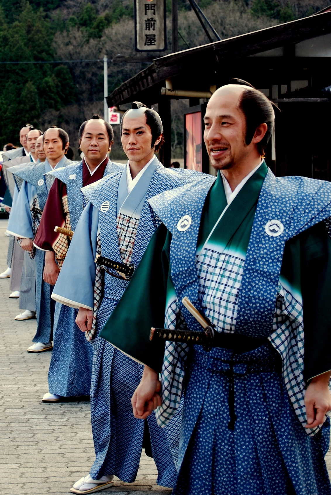 File Samurais Wearing Kamishimo Jpg Wikimedia Commons