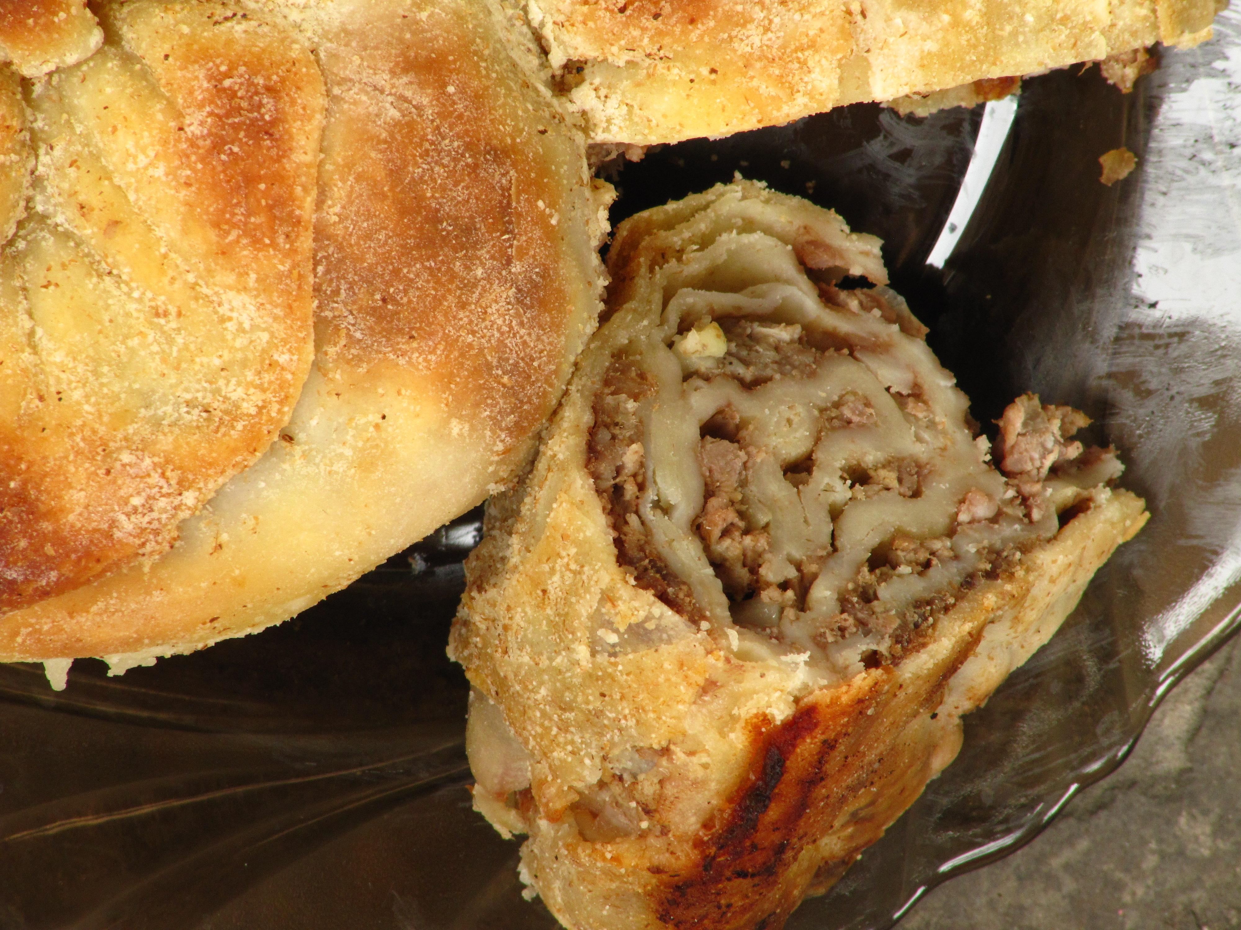 Pie Baked Inside A Cake Recipe