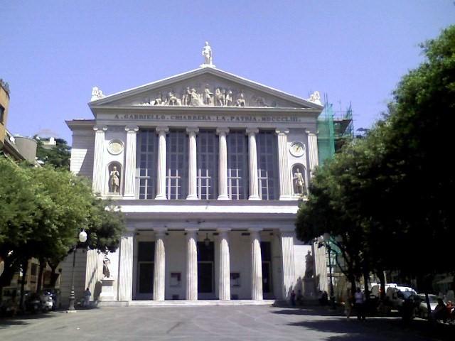 Savona-teatro Chiabrera