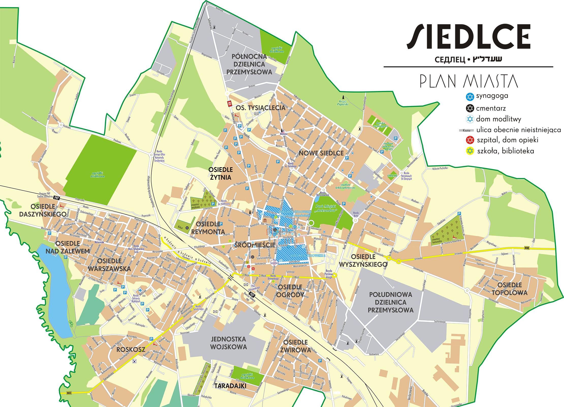 File Siedlce Jewish Getto And Jewish District Jpg Wikimedia Commons