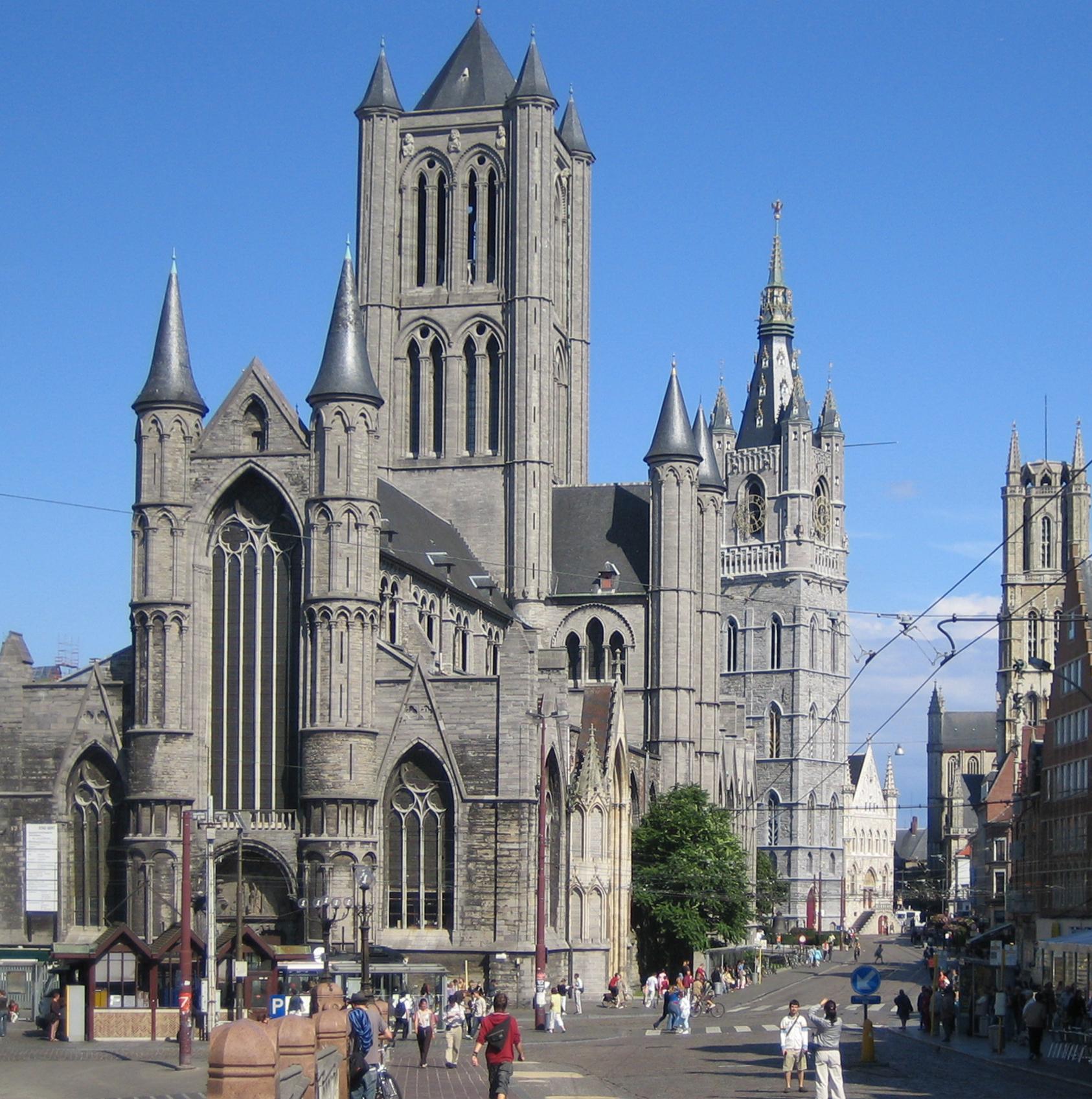 Iglesia de San Nicolás (Gante) - Wikipedia, la enciclopedia libre