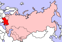 Map of the 1974 geographic location of various ethnic groups within the Soviet Unionx400px