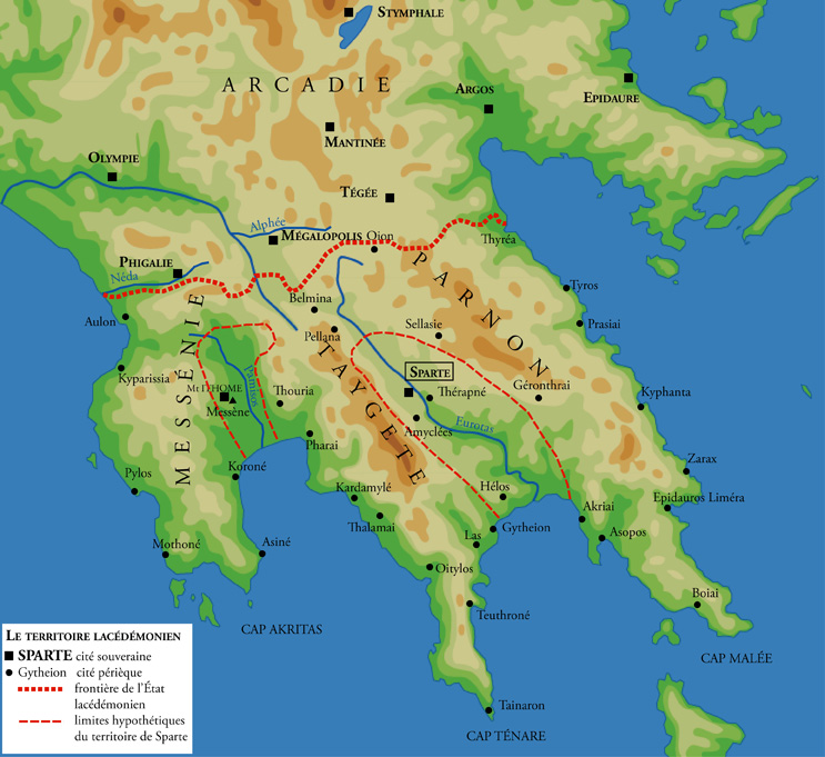 Map Of Sparta Sparta   Wikipedia