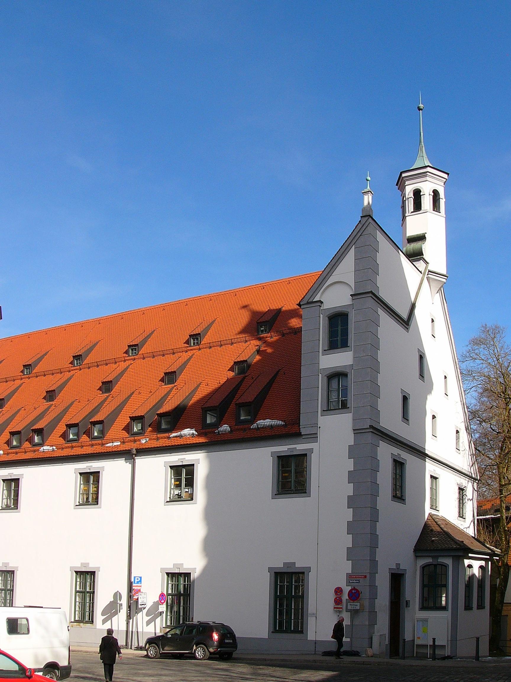 Heilig-Geist-Kapelle (Augsburg) – Wikipedia
