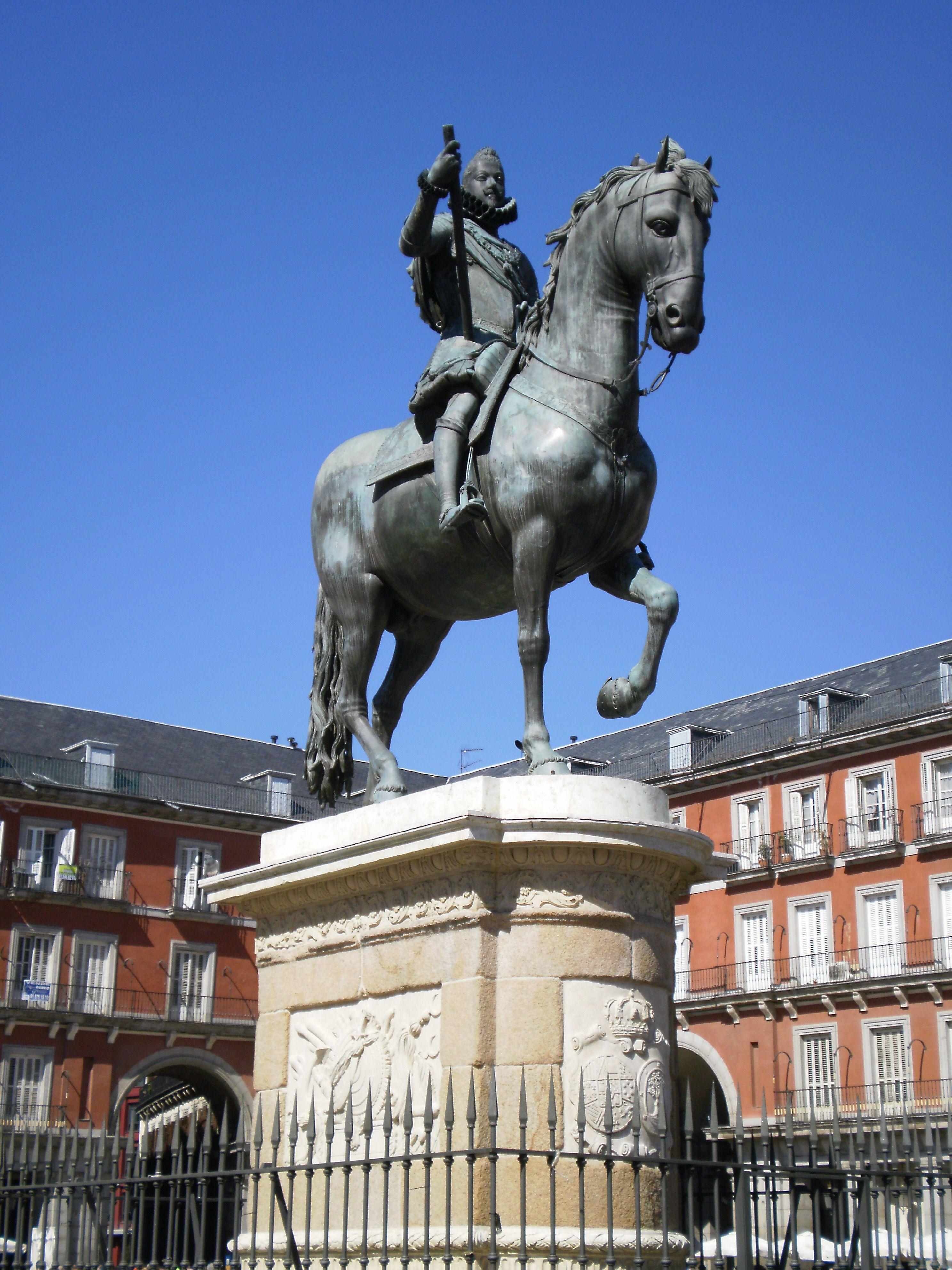File:Statue of Philip III of Spain, Madrid 02.JPG