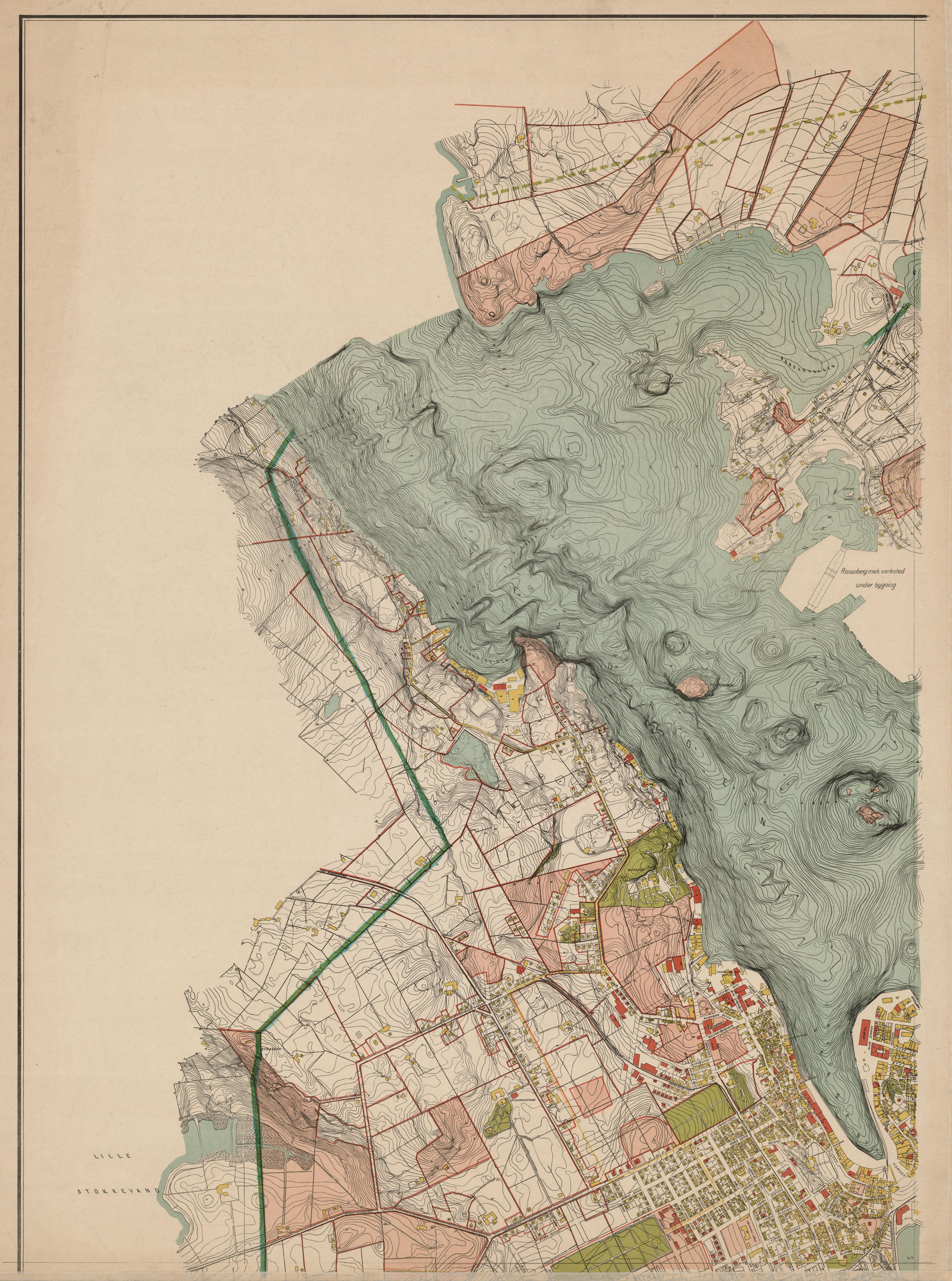 kart stavanger og omegn File:Stavanger amt nr 28 nv  Kart over Stavanger med nærmeste  kart stavanger og omegn