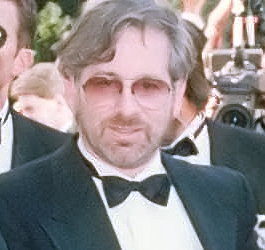 Spielberg in March 1990