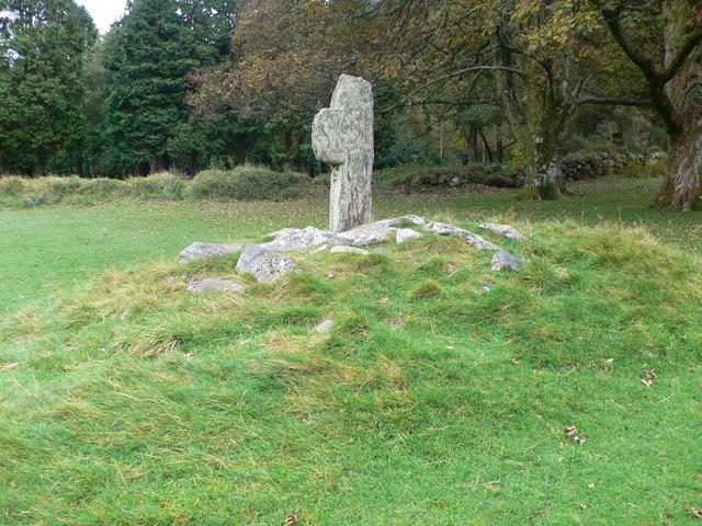 Stone Cross, Glendalough - geograph.org.uk - 1550707