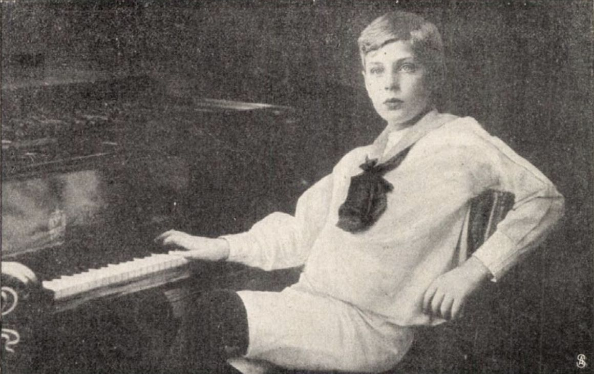 George Szell at the age of 12