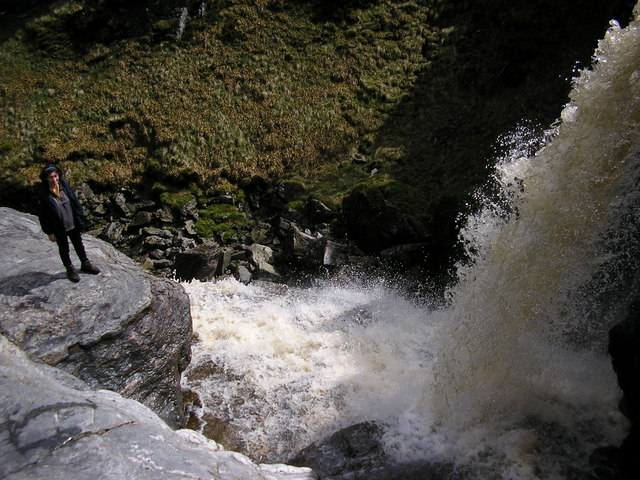 The Falls of Damff - geograph.org.uk - 1300712