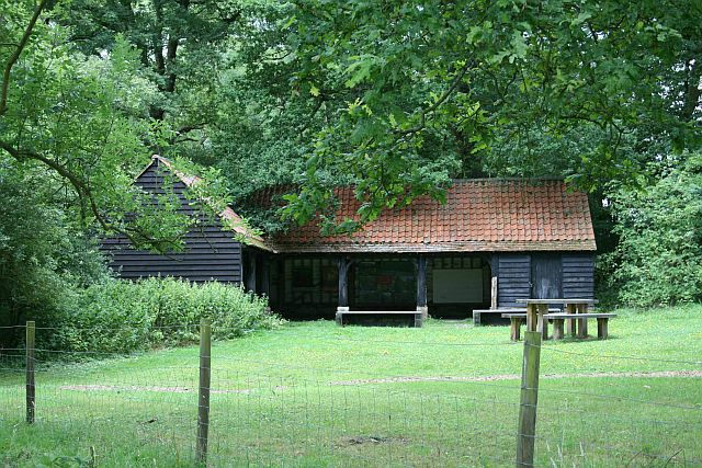 The Old Barn, Hatchlands Park - geograph.org.uk - 1436537
