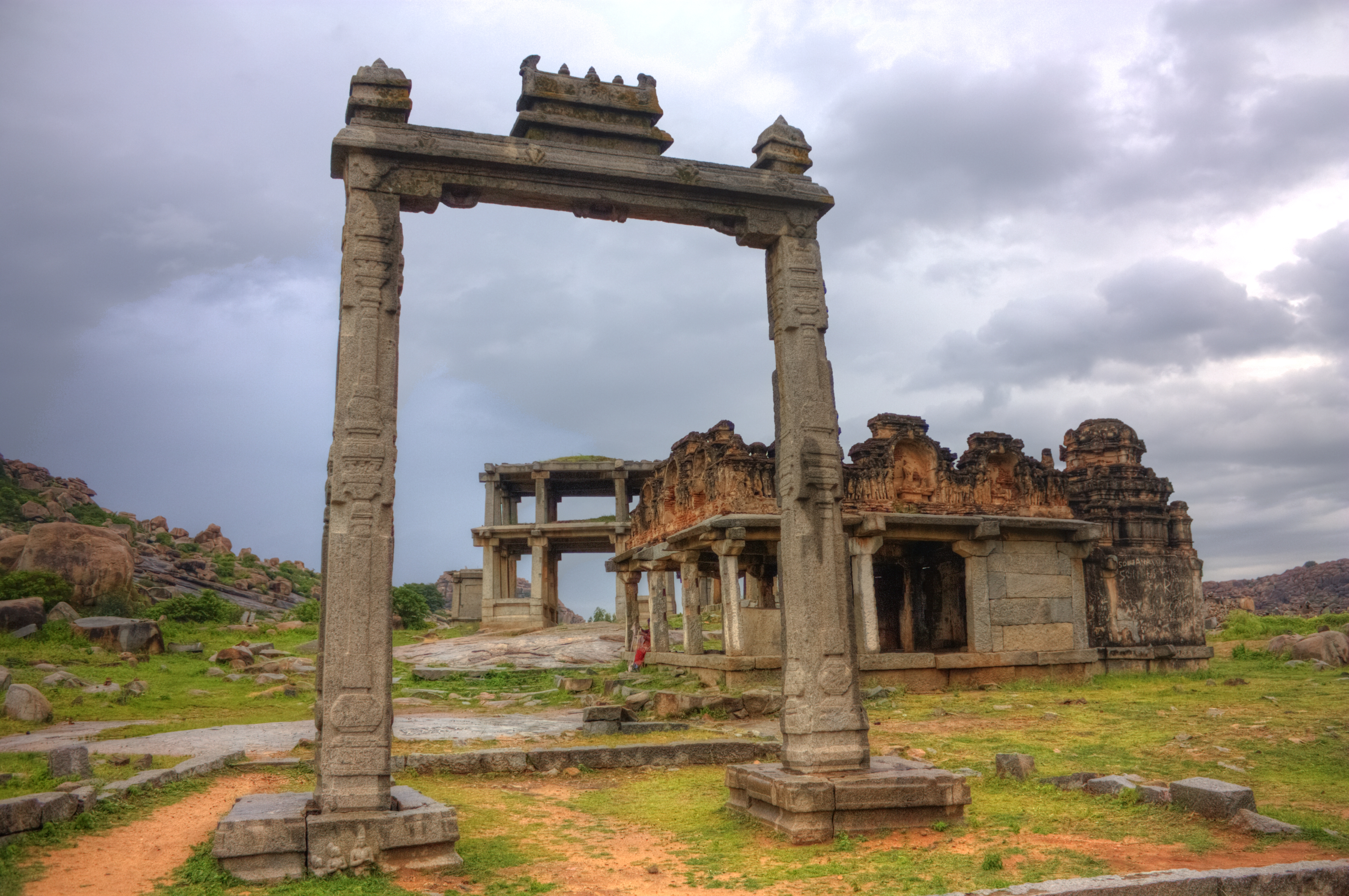 The Kings Balance, Hampi, India