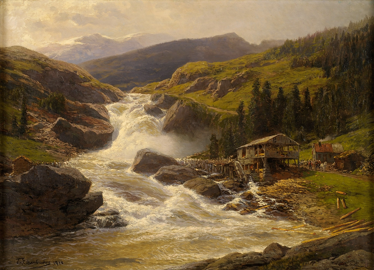 K Paul Oil Paintings