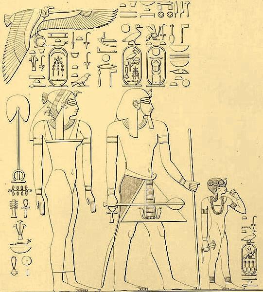 حتشبسوت..أعظم ملكة فرعونية Thutmose_I_Family-83d40m-highContrast