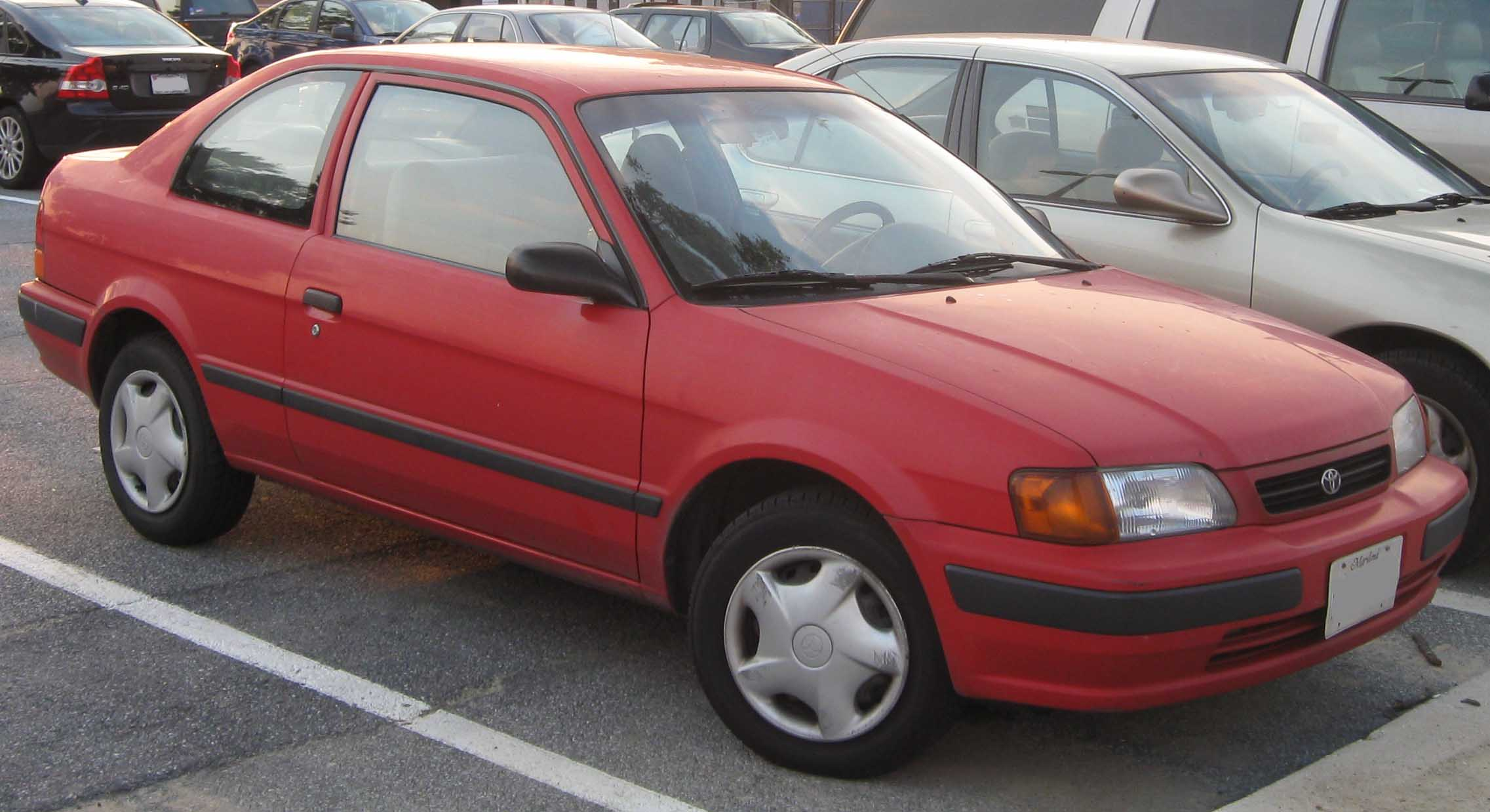 Opinions On Toyota Tercel