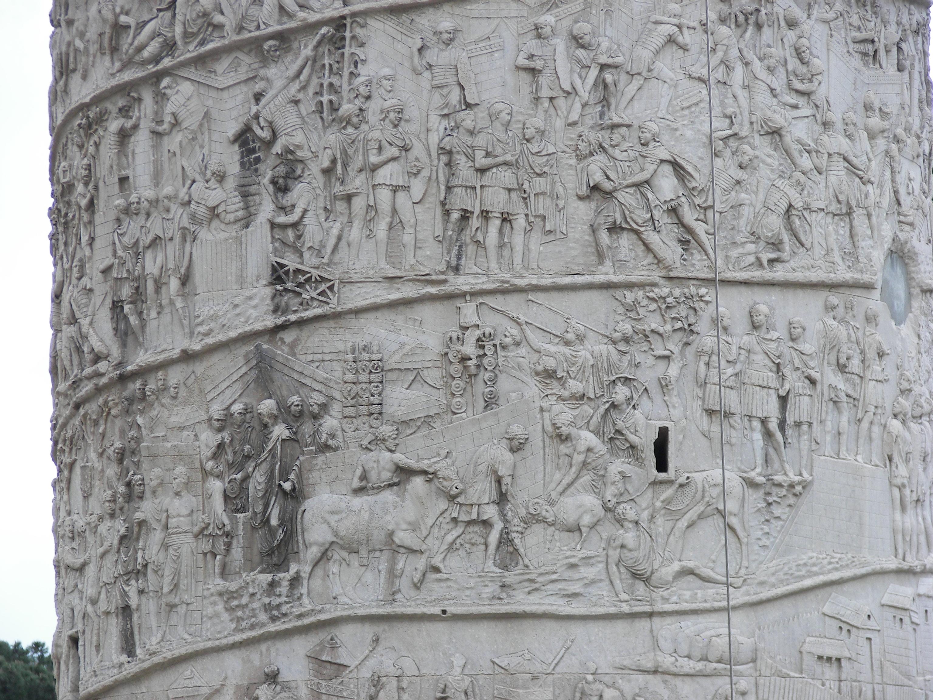 Trajan's Column reliefs