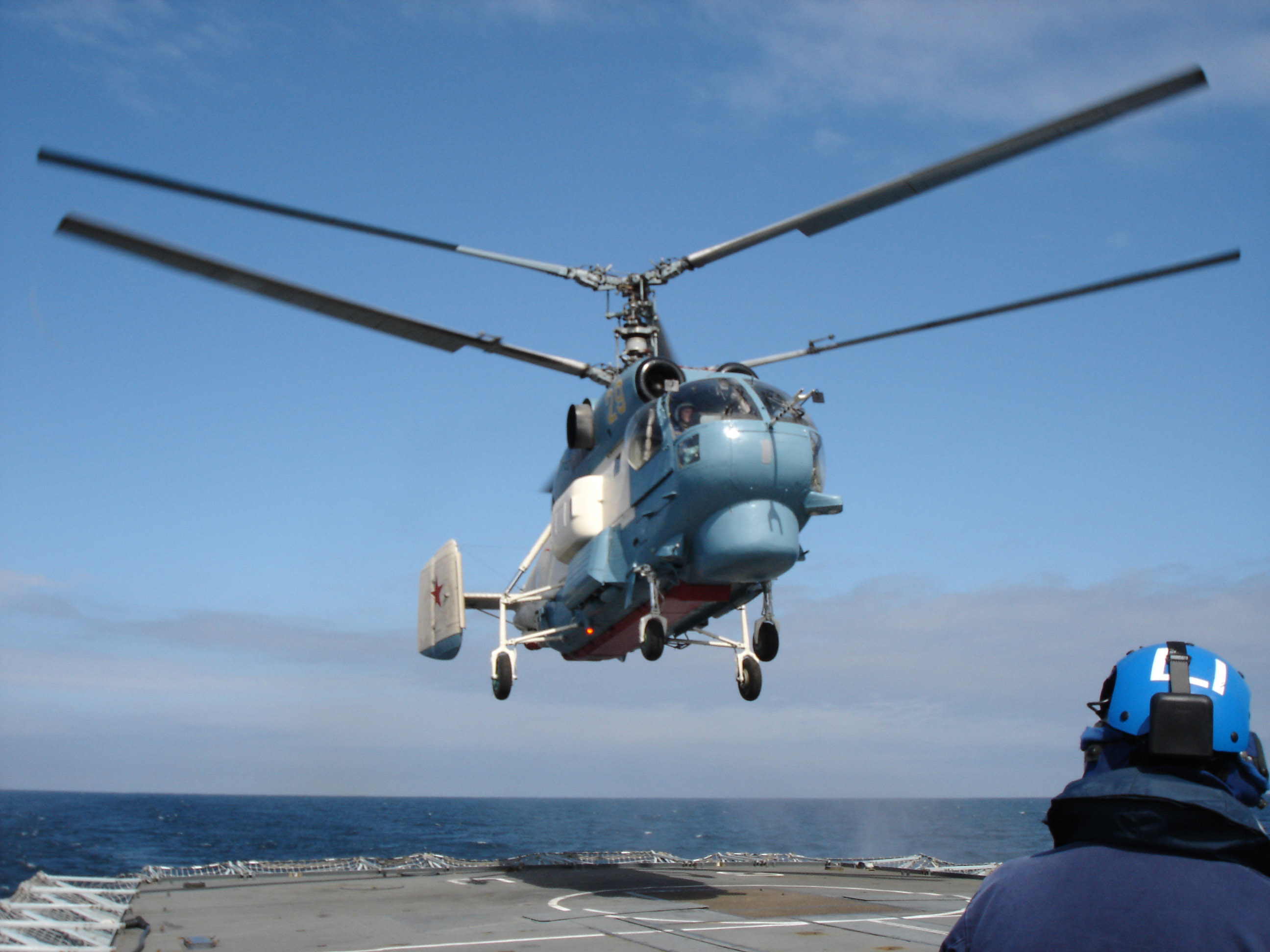 ka 28 helicopter with File Us Navy 050607 N 0000l 001 A Russian Ka 27 Helicopter Assigned To The Russian Destroyer Rfs Natoychiviy  Dd 610  Lands Aboard The British Royal Navy Frigate Hms Sutherland  F 81  During Baltic Operations  Baltops  2005 on 172 Mil Mi 8mtps Smalta M Electronic Warfare Helicopter likewise Watch besides  likewise Ar14504 1 144 Me 163 Komet Coloring 02 further Vietnam War.