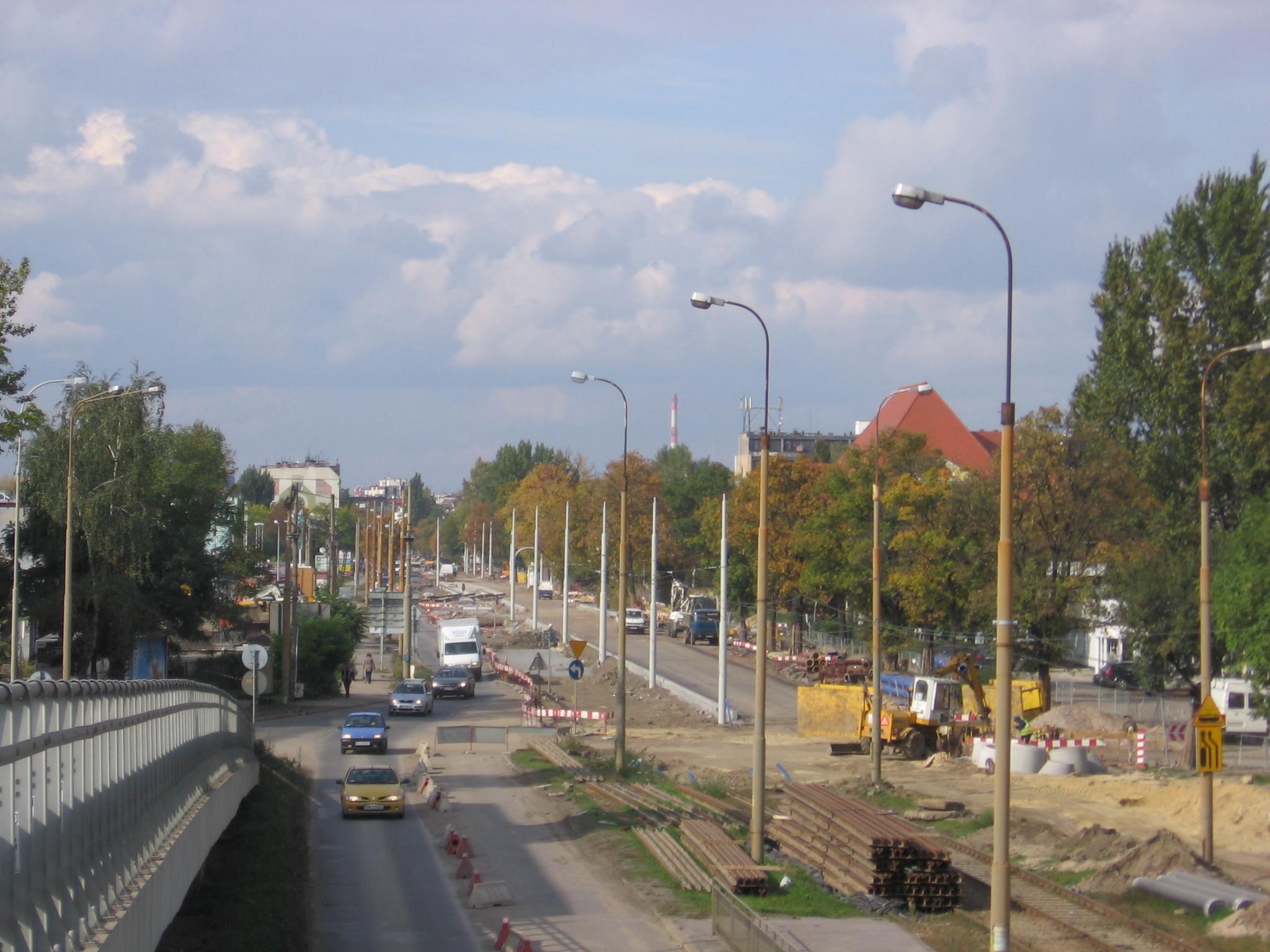 Ulica Krakowska we Wrocławiu