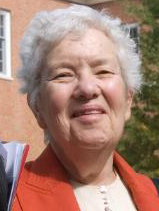Portrait photograph of Vera Rubin in 2009