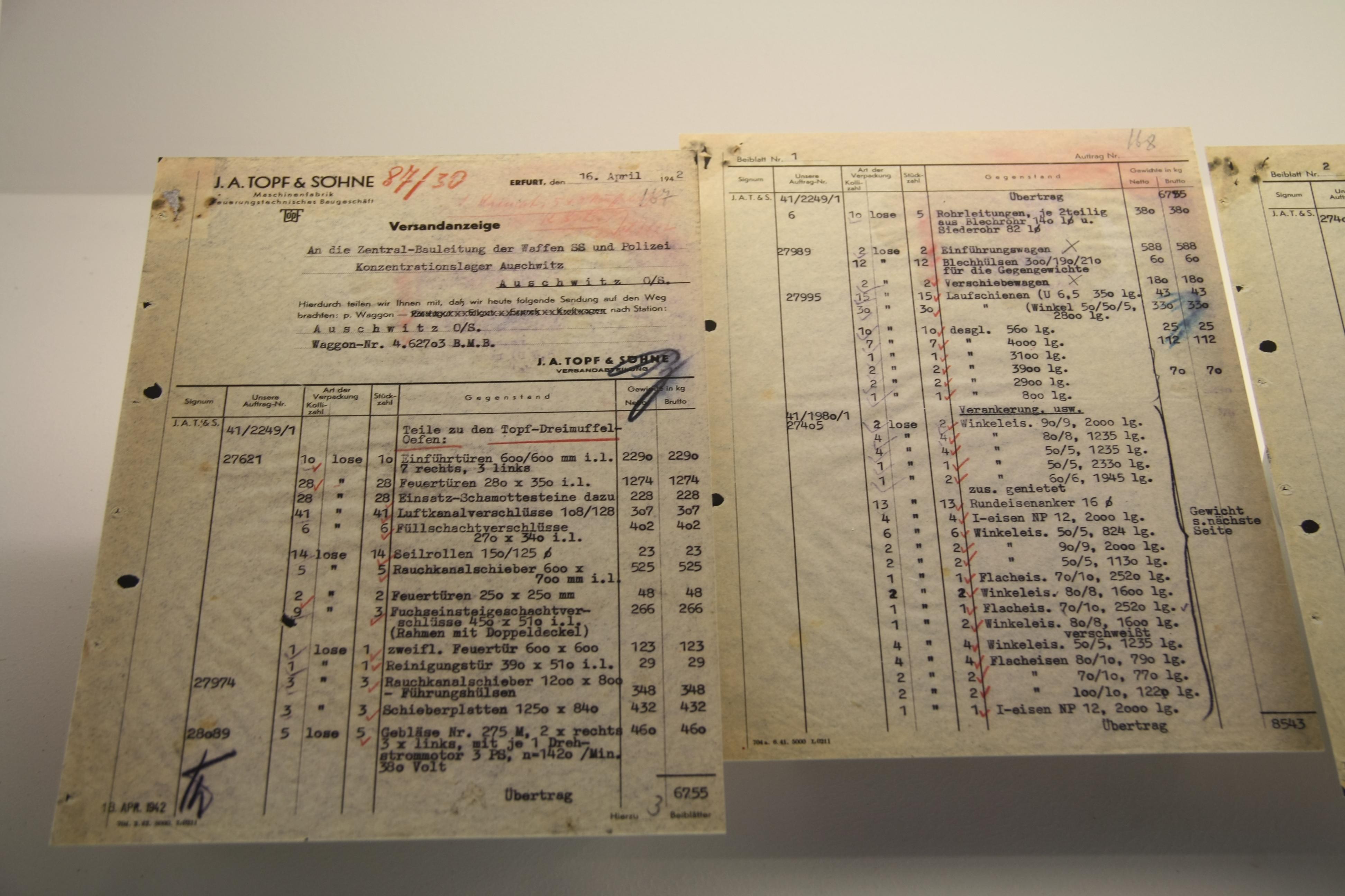 wiki File:Versandanzeige der Fa. J. A. Topf