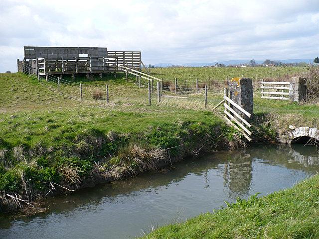 Viewing platform at Newport Wetlands - geograph.org.uk - 751680