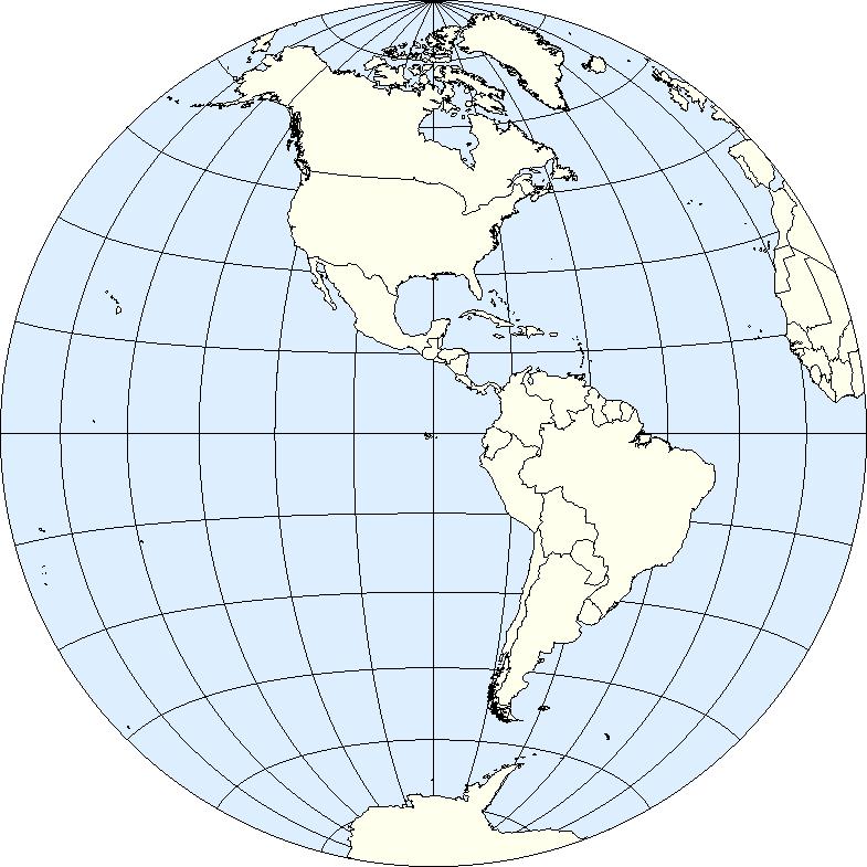 photo about Western Hemisphere Map Printable referred to as Western Hemisphere - Wikipedia
