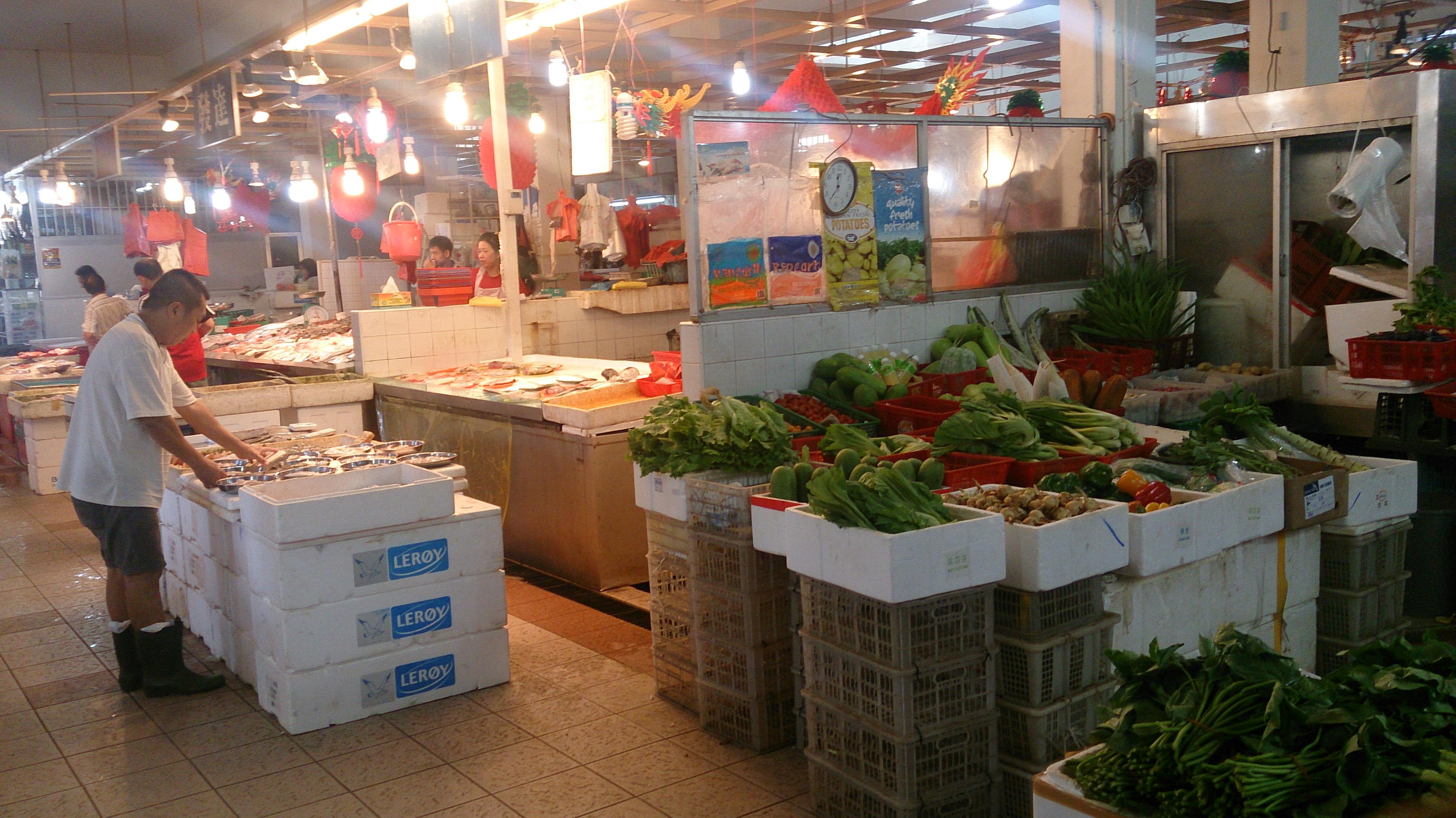Depiction of Mercado