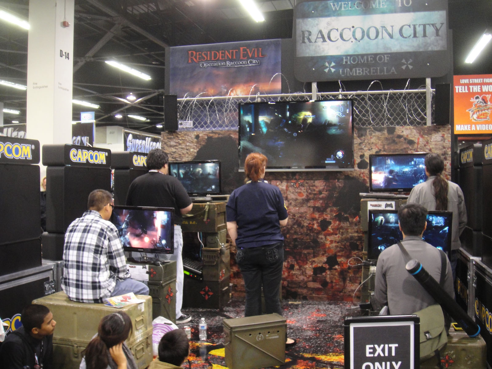 File:WonderCon 2012 - Resident Evil- Operation Raccoon City