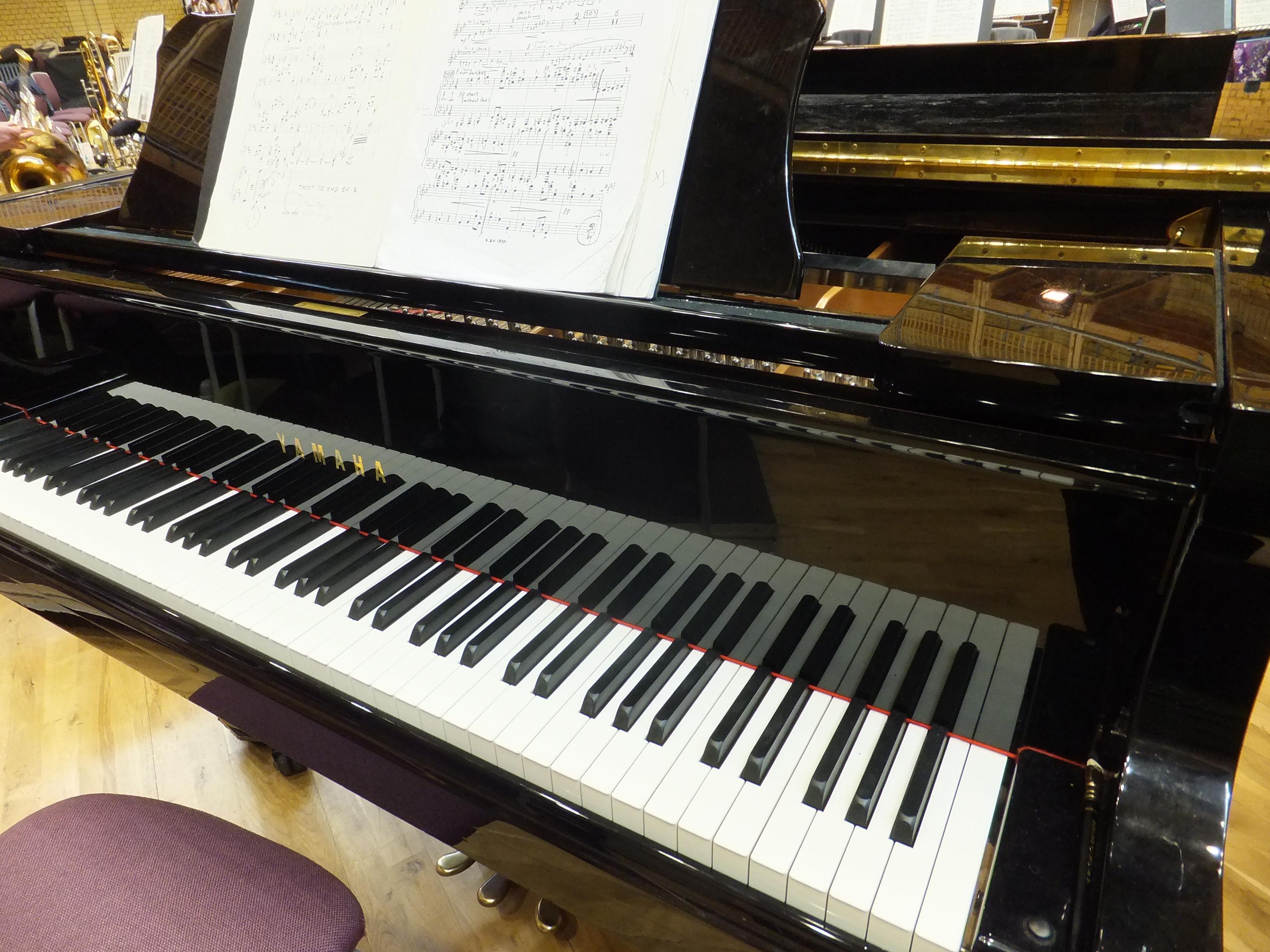 Yamaha Grand Piano Bracing