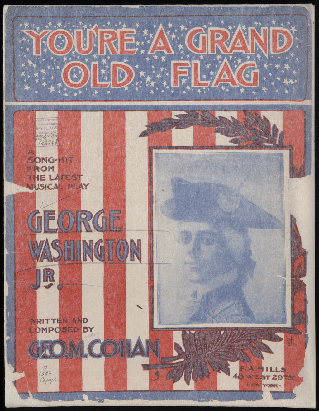You'Re A Grand Old Flag Cohan 83