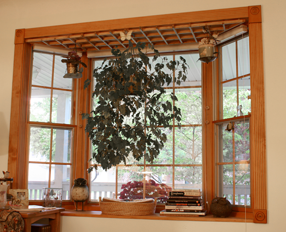 Bow Window Decor