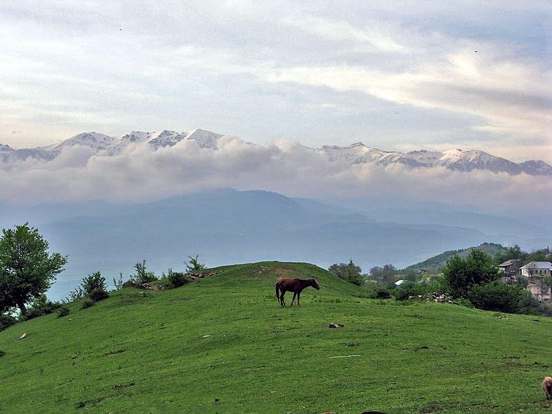 Муровдагский хребет в Азербайджане