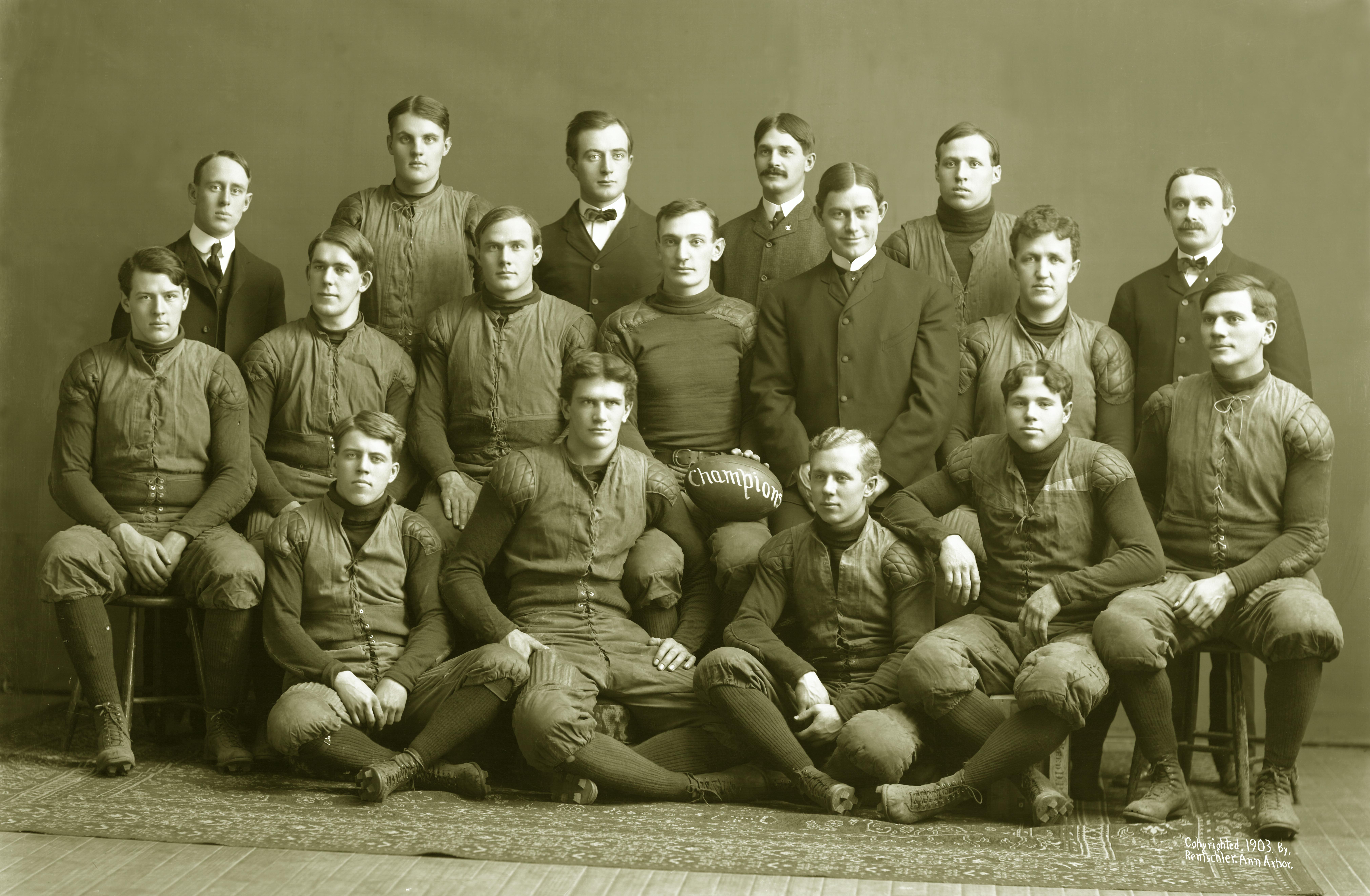 1903 Michigan Wolverines football team - Wikipedia