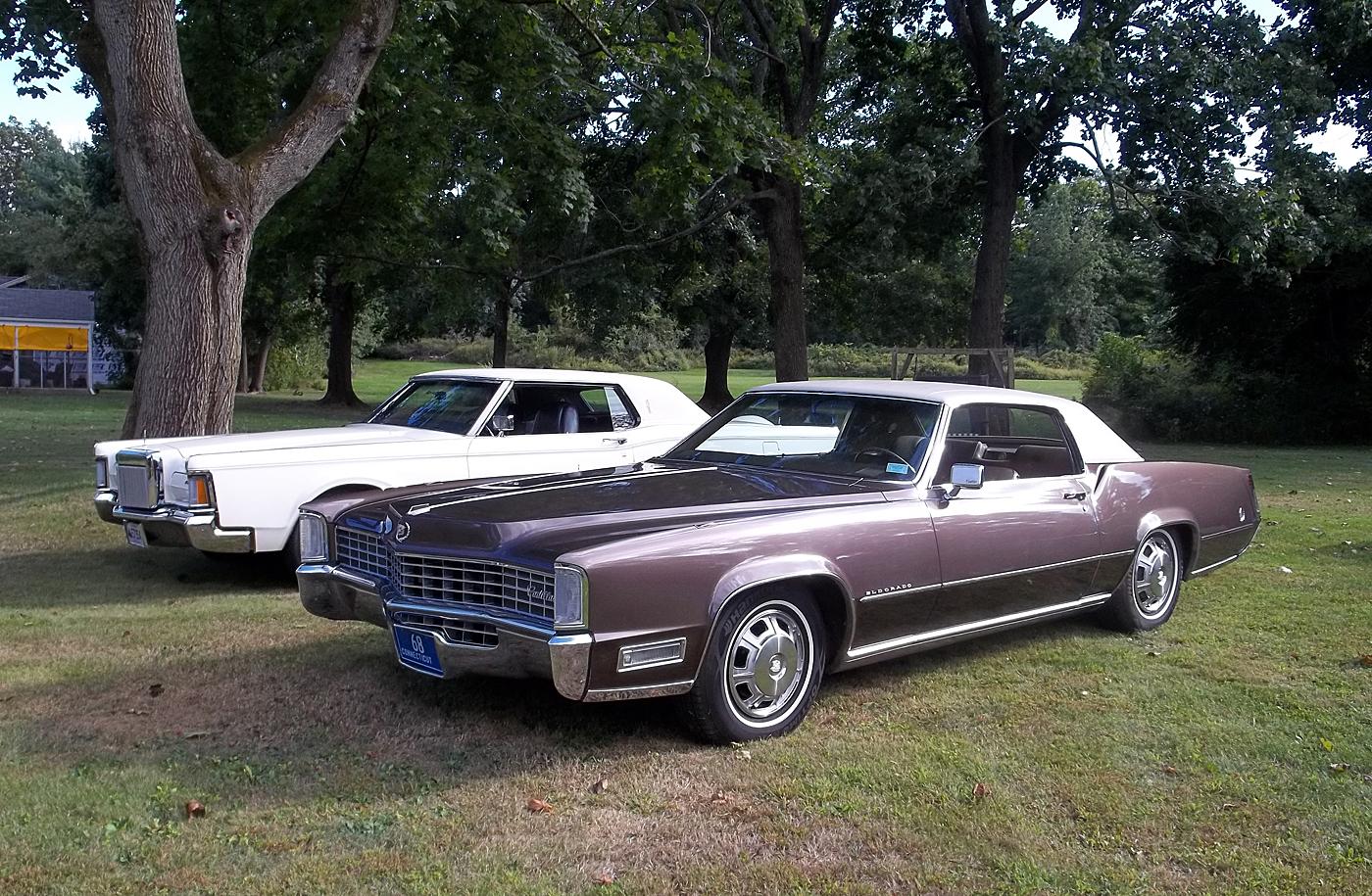 File1968 Cadillac Eldorado and 1971 Lincoln Mark III  Flickr