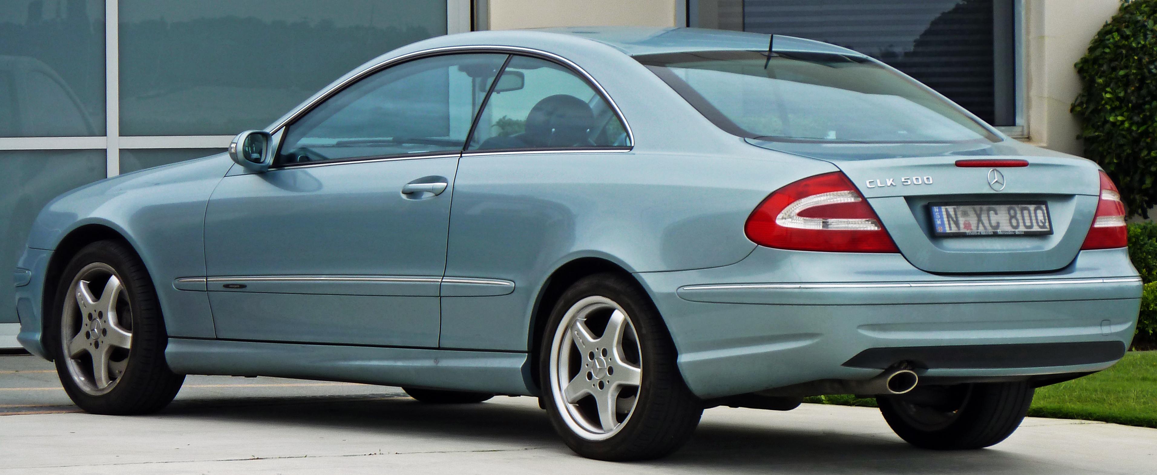 File 2003 Mercedes Benz Clk 500 C 209 Avantgarde Coupe 2010