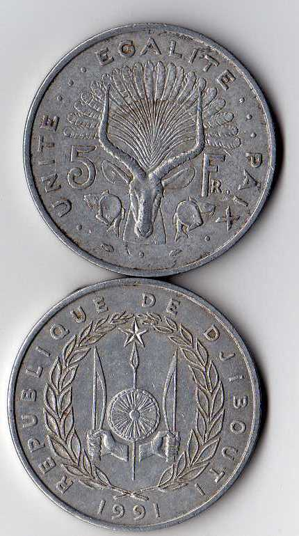 Djiboutian franc - Wikipedia