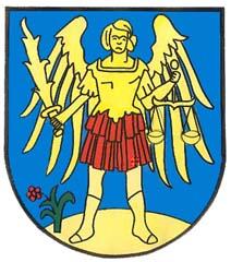 Lajtaújfalu címere