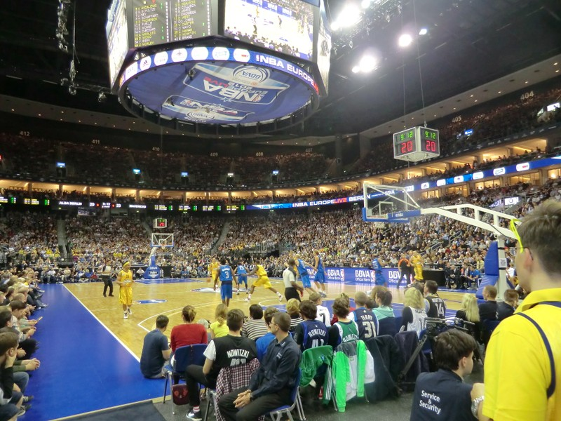 Alba Berlin in der O2 World in Friedrichshain
